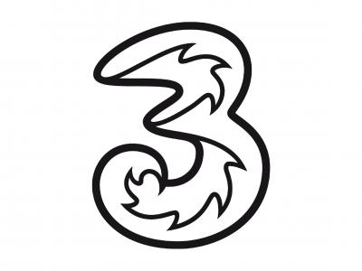 Logo der Firma Drei