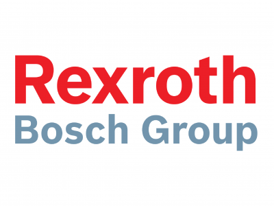 Logo der Firma Rexroth Bosch Group